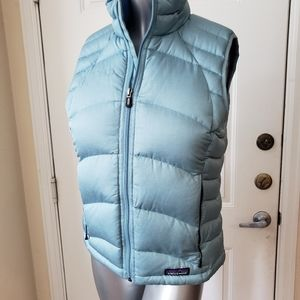 Patagonia vest down sweater Med womans